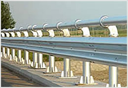 Galvanized Guard Rails